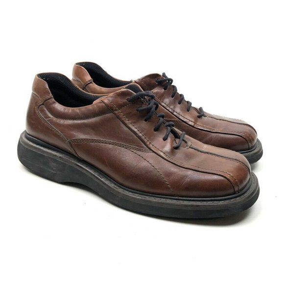 Kenneth Cole Reaction Brown Lace Up Leather Shoes